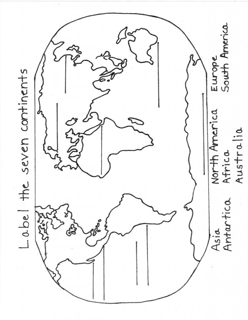 7 Continents Sheet